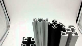 Конструкционный станочный алюминиевый профиль. Обзор.