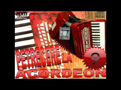 PETRECERE LA ACORDEON VOL 9 HORE SI SARBE INSTRUMENTALE MUZICA DE PETRECERE 2016