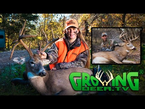 Deer Hunting Action: Spot and Stalk Bow Hunt Plus More! 3 Bucks Down! (#365) @GrowingDeer.tv