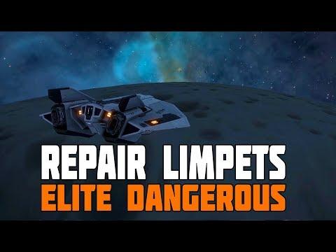 Elite Dangerous - Beta 2.4 - Repair Limpets, New Pleiades Nebula and Salvage