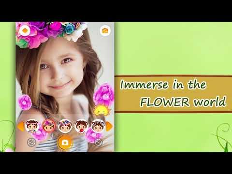 Flower Selfie Cam - pics, camera & special lenses - Apps on