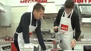видео Мясорубки с металлическими шестернями