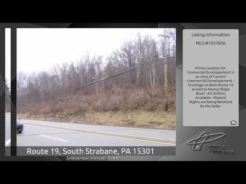 Route 19, South Strabane, PA 15301
