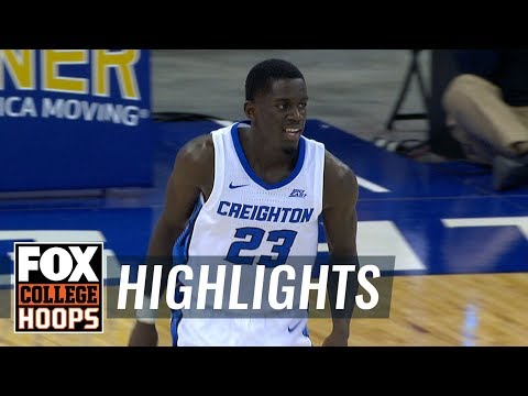 Creighton vs. East Tennessee State | FOX COLLEGE HOOPS HIGHLIGHTS