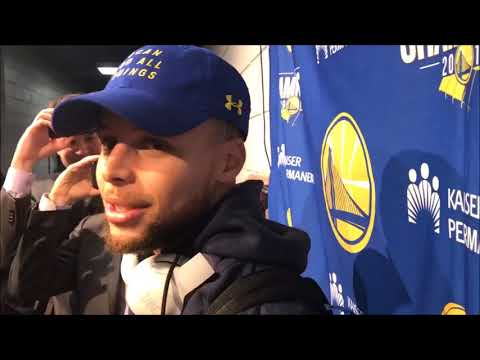 """Steph Curry says he had a 20 minute talk with Bill Walton:"""" he wants to go on a bike ride"""""""