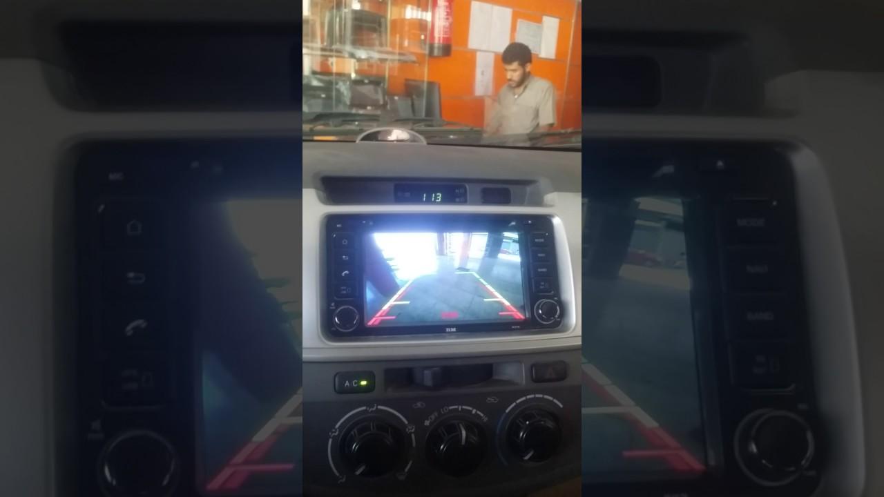 شاشه تويوتا بنظام الاندرويد والايفون جميع السيارات Youtube