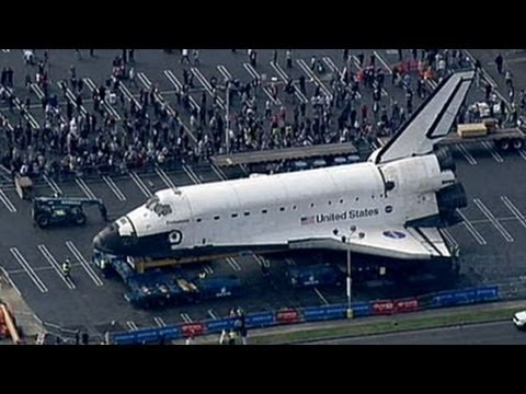 Space Shuttle Endeavour to Reach Final Resting Place; Retired Ship Makes Way Through Los Angeles