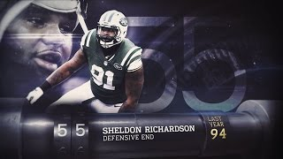 #55 Sheldon Richardson (DE, Jets)   Top 100 Players of 2015