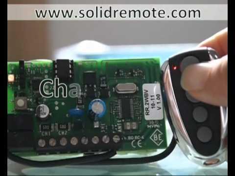 Beninca TWV TO GO compatible remote control