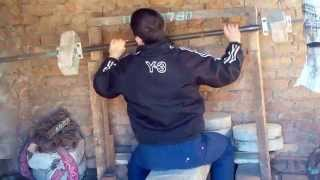 7. A little workout in the primitive GYM