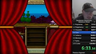 Bookworm Adventures Deluxe (PC) Adventure Mode speedrun in 1:19:36