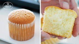 입안에서 살살녹는 카스테라 컵케이크 만들기, 카스테라 …