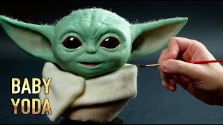 Baby Yoda Sculpture Timelapse - The Mandalorian