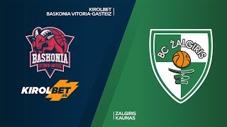 KIROLBET Baskonia Vitoria-Gasteiz - Zalgiris Kaunas Highlights | EuroLeague, RS Round 25