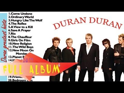 Duran Duran greatest hits | Best song of Duran Duran (HD/HQ)