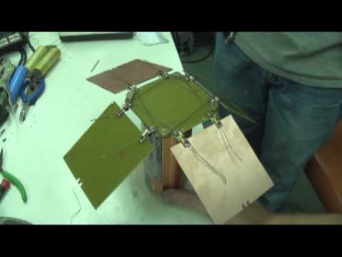 CUBESAT university of hawaii deployable solar array