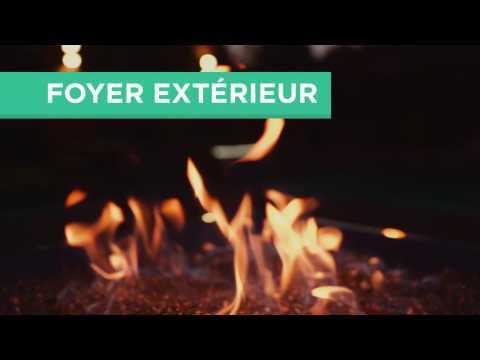 Foyer ext rieur gaz naturel gazif re youtube for Foyer gaz exterieur