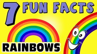 7 FUN FACTS ABOUT RAINBOWS! FACTS FOR KIDS! Rainbow! Learning Colors! Rain! Sky! Funny! Sock Puppet!