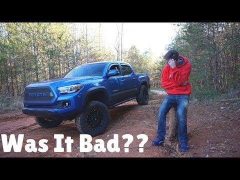 I Made One MISTAKE Lifting My Toyota Tacoma...