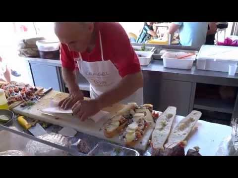 Street Food: Italy Sicily incredible Panini / Sandwich (edited)