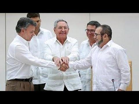 Breakthrough deal in Colombia Farc talks