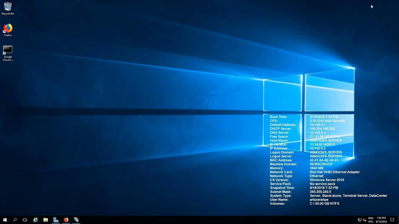 Installing IIS and MySQL on Windows Server 2016 Datacenter