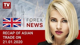 InstaForex tv news: 21.01.2020: Traders back on track after Martin Luther King Jr. day: outlook for USD/JPY, AUD/USD