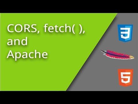 Resolving CORS AJAX Fetch Problems