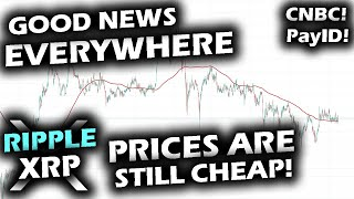 SO MUCH GOOD RIPPLE XRP NEWS and PRICES Are Still CHEAP on the Ripple XRP Price Chart