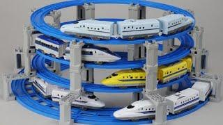 【xe lửa đồ chơi 】Đồ chơi tàu hỏa s40,s18,s62,s31,s32,s12,s14,s17,Hankyu 9000,s36,N700,s37 00063 vn
