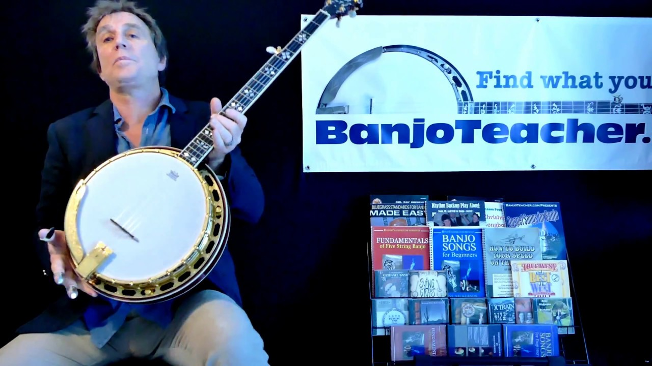For Sale - Gold Plated RK85 Flamed Maple Recording King Banjo - Ross  Nickerson Video