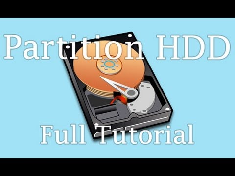 How To Partition A Hard Drive In Windows 8