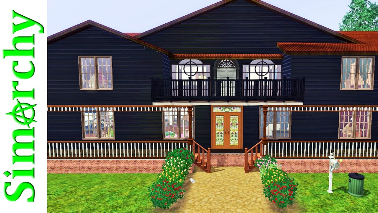 The sims 3 house tour mysterious large old family home for Classic house sims 3
