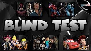 BLIND TEST | 100 MUSIQUES (FILMS SERIES JEUX MANGAS DISNEYS ET PIXARS)