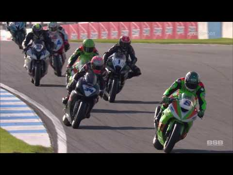 2017 Dickies British Supersport Championship: R1 Donington Park Highlights