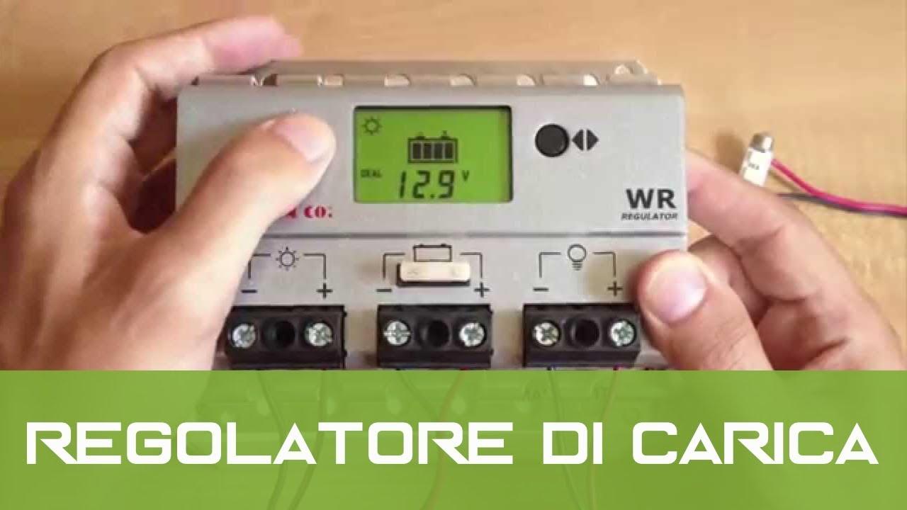 Schema Elettrico Regolatore Di Carica Per Pannelli Solari : Regolatore di carica western co ita charging regulator youtube