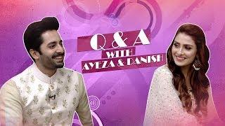 The Aftermoon Show | Q & A | Ayeza | Danish | Hum Spotlight