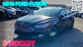 Ford Fusion 2019 в Москву - комплектуем запчастями и отправляем в ремонт. Авто из США.