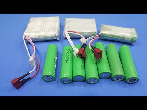 How To Make A 2S 3S 4S Battery From Old Battery Get In  Broken Laptop Instead