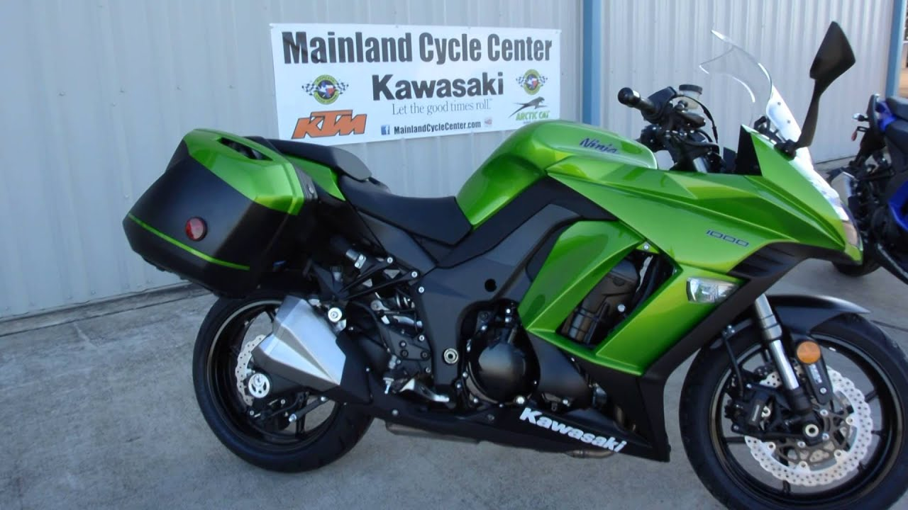 2014 Kawasaki Ninja 1000 Abs With Quick Release Saddle Bags Youtube