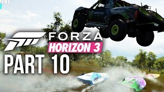 Forza Horizon 3 Gameplay Walkthrough Part 10 - RACING A BOAT (Full Game)