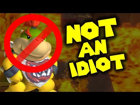 Bowser Jr is NOT AN IDIOT !