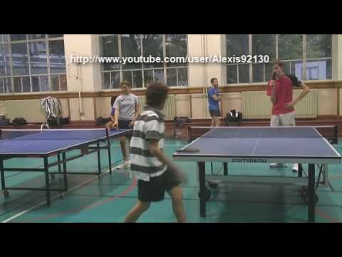 Tennis de table 16 le club du 16 me arrondissement de paris youtube - Club tennis de table paris ...