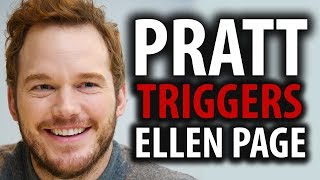Chris Pratt's Church Triggers Ellen Page