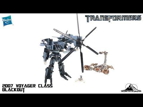 Optibotimus Looks Back Episode 05: 2007 Transformers Voyager Class BLACKOUT