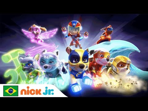 Patrulha Canina Mighty Pups Musica De Abertura Nick Jr