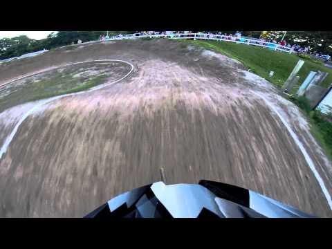 cody racing bmx at tri city bmx in rotterdam ny.