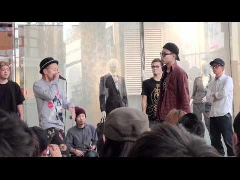 3on3 Beatbox Battle@Shopping Mall Tokyo Shibuya