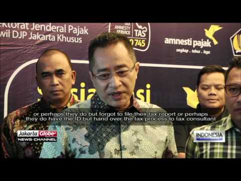 Celebrities Campaigning Tax Amnesty