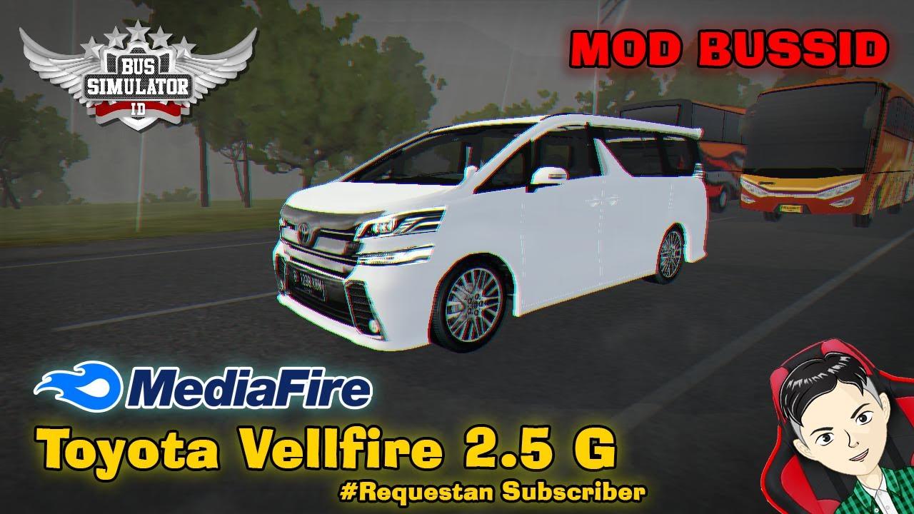 Share Mod Toyota Alphard 2020 Hybird Bussid Youtube